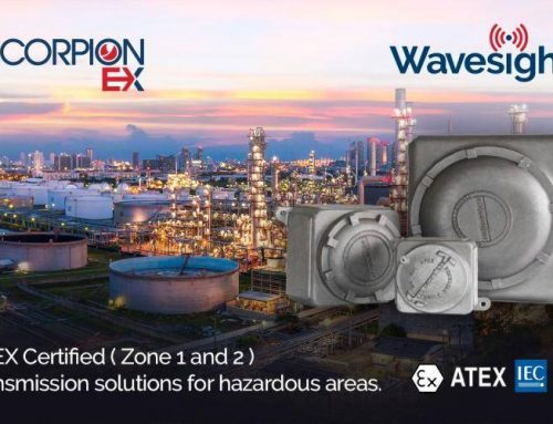 Wavesight launches Scorpion EX _ ATEX Certified Radios ( Zone 1 and 2)